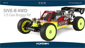 5IVE-B Race Kit - 1/5 4WD Buggy-radio-controlled-cars-and-trucks-Hobbycorner