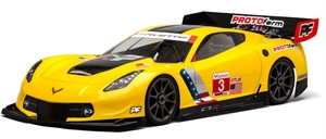 Chevrolet Corvette C7R Clear Body GT2 1/8 - 1546-40-radio-controlled-cars-and-trucks-Hobbycorner