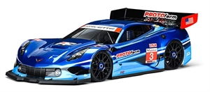 Chevrolet Corvette C7R Clear Body 1/8 - 1551-40-radio-controlled-cars-and-trucks-Hobbycorner
