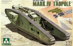 1/35 WWI Heavy Battle Tank MK IV Tadpole - TAK2015-model-kits-Hobbycorner