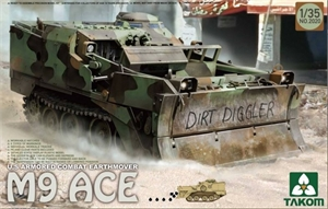 1/35 US Armoured Combat Earthmover M9 - TAK2020-model-kits-Hobbycorner