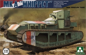 1/35 WWI Medium Tank MK a Whippet - TAK2025-model-kits-Hobbycorner