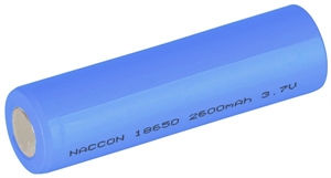18650 Rechargeable Li-Ion Battery 2600mAh 3.7V-batteries,-chargers-and-testers-Hobbycorner
