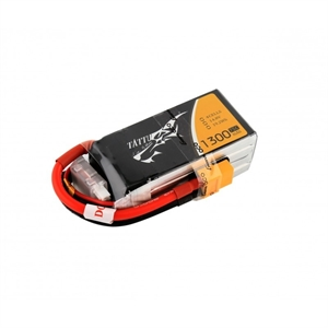 1300mAh 4S 75c 14.8v With XT60 - TA1300-4S75-R-batteries,-chargers-and-testers-Hobbycorner