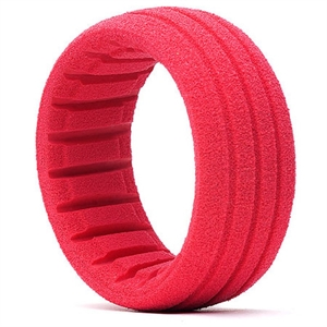 1/8B SC Shaped Insert Red - Soft x4 - 34001S-tires-and-rims-Hobbycorner