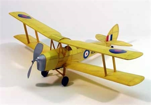 17 1/2 inch Walnut scale Tiger moth - DUM0208-model-kits-Hobbycorner