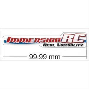 ImmersionRC 10cm Sticker-brands-Hobbycorner