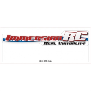 ImmersionRC 30cm Sticker-brands-Hobbycorner