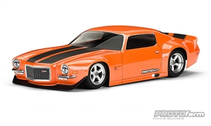 1971 Chevrolet Camaro Z28 Clear Body-radio-controlled-cars-and-trucks-Hobbycorner