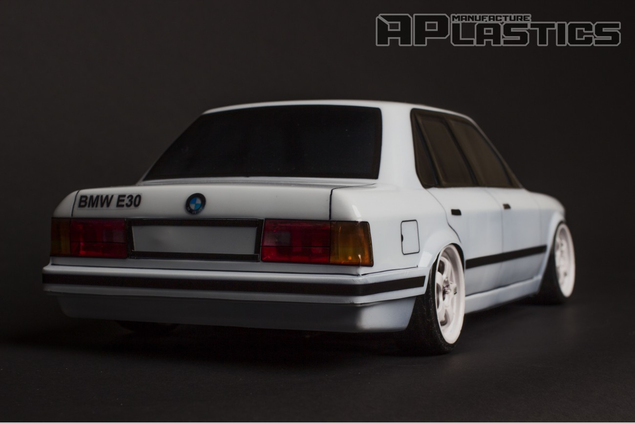Bmw E30 Sedan 1 10 Body Clear Radio Controlled Cars