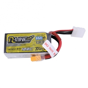 1300Mah - 15.2v - 4S - 100C - LiHV-batteries,-chargers-and-testers-Hobbycorner