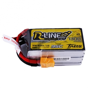 1300Mah - 18.5v - 5S - 95C - R-Line-batteries,-chargers-and-testers-Hobbycorner