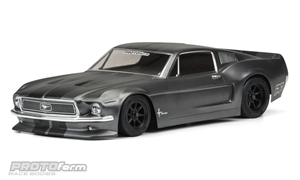 1968 Ford Mustang Clear Body-radio-controlled-cars-and-trucks-Hobbycorner