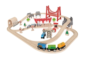 Double Loop Railway Set - E3712-brands-Hobbycorner