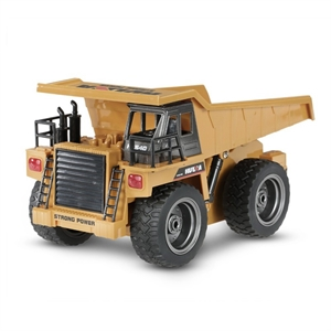 1/18 RC Dump Truck With Diecast Cab-brands-Hobbycorner