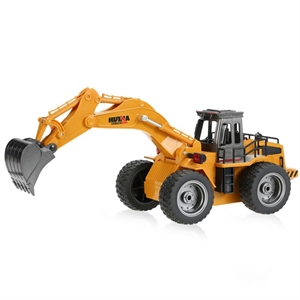 1/18 RC Wheeled Digger With Diecast Bucket-brands-Hobbycorner