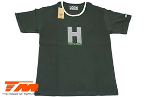T-Shirt - HARD - Blackish Green - XL-brands-Hobbycorner