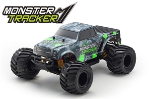 1/10 Monster Tracker Green 2wd MT-radio-controlled-cars-and-trucks-Hobbycorner