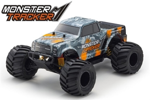 1/10 Monster Tracker - Orange - 2wd MT-radio-controlled-cars-and-trucks-Hobbycorner