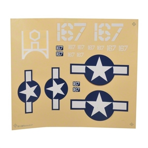 Decal Sheet - Corsair S-radio-controlled-planes-and-gliders-Hobbycorner