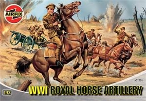 1:72 Action Figures - WWI Royal Horse Artillery-model-kits-Hobbycorner
