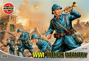 1:72 Infantry - WWI French Infantry-model-kits-Hobbycorner