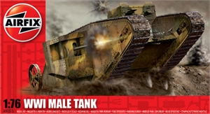 1:76 WWI Male Tank-model-kits-Hobbycorner