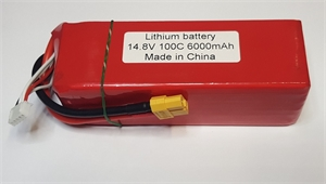 6000Mah 4s Lipo Battery For Splash Drone-batteries,-chargers-and-testers-Hobbycorner