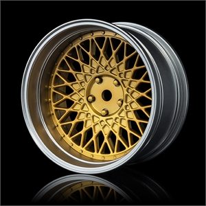 Adjustable Offset Chrome/Gold FS 501-tires-and-rims-Hobbycorner