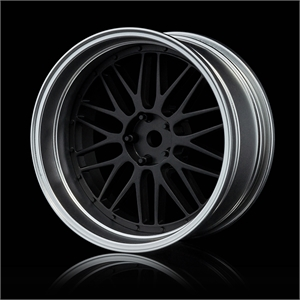 Adjustable Offset Chr/Blk 20spk-tires-and-rims-Hobbycorner
