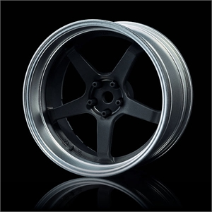 Adjustable Offset Chr/Blk 5 spoke-tires-and-rims-Hobbycorner