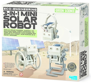 3 n 1 Mini Solar Robot-model-kits-Hobbycorner