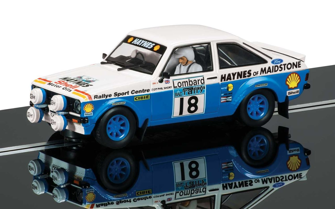 Ford Escort Mk2 - Lombard RAC Rally - SCA C3636 - Slot Cars-Slot ...
