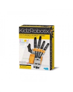 KidzRobotix - Motorised Robot Hand-model-kits-Hobbycorner
