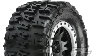 "Trencher 4.3"" Pro-Loc All Terrain Tires Mounted -  10151-13-tires-and-rims-Hobbycorner"