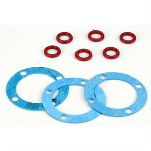 Differential Seal Set: 8B,8T, LST, XXL, MB - LOSA3505-radio-controlled-cars-and-trucks-Hobbycorner