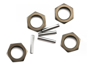 Wheel Nuts & Pins (4ea) 8B,8T-radio-controlled-cars-and-trucks-Hobbycorner
