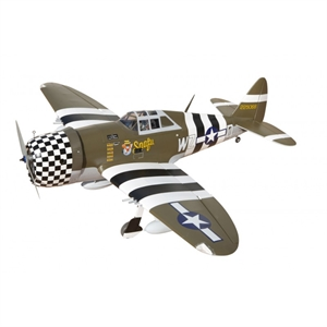 P-47G Thunderbolt Snafu 60 ARF-radio-controlled-planes-and-gliders-Hobbycorner