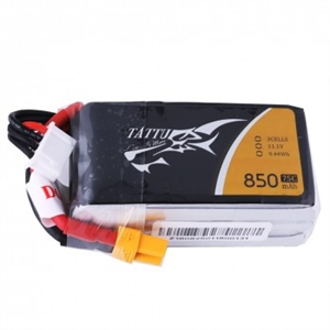 850mAh 11.1V-3S - 75C - XT60-batteries,-chargers-and-testers-Hobbycorner