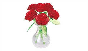Six Roses in Vase-model-kits-Hobbycorner