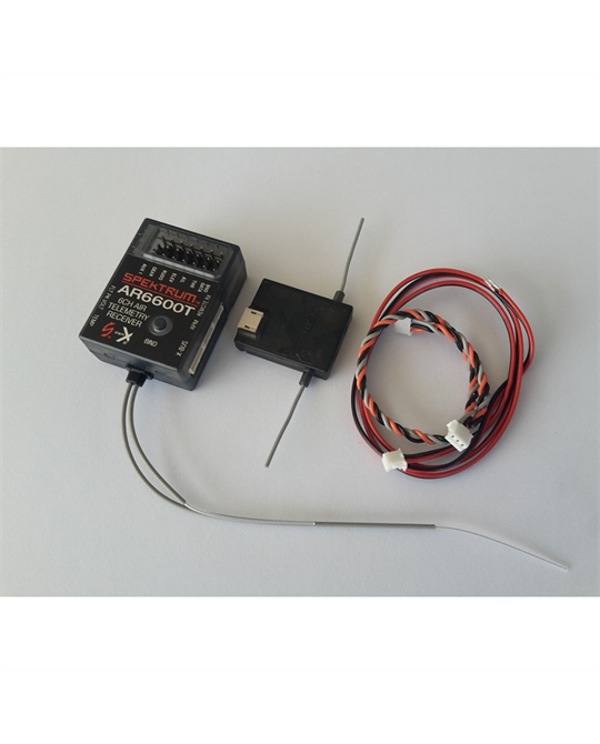 6 Ch Air Telemetry Receiver with Remote RX
