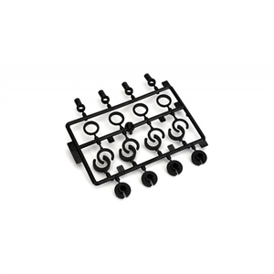 Shock End, Spr Cup, Spr Clip Set: 1:10 2wd All - ECX1038-radio-controlled-cars-and-trucks-Hobbycorner