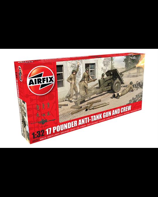 1/32 17 Pounder Anti Tank Gun and Crew
