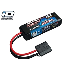 2200mAh 2S 7.4V 2200mAh Lipo w/iD Connector - 2820X-batteries,-chargers-and-testers-Hobbycorner