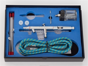 Suction Fed Airbrush with all Accessories - AC-BD182K-paints-and-accessories-Hobbycorner