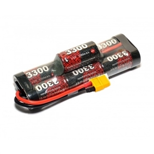 8.4V NiMh SC3300 Hump pack With XT60 -batteries,-chargers-and-testers-Hobbycorner
