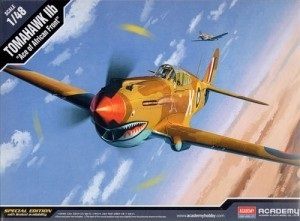 TOMAHAWK IIb Ace of African Front - 1/48 - 12235-model-kits-Hobbycorner