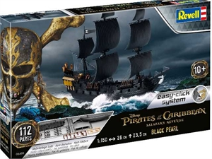 Black Pearl easy-click-model-kits-Hobbycorner