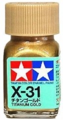 X31 Enamel Titanium Gold - 8031-paints-and-accessories-Hobbycorner