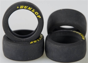 Scalextric Low Profile Dunlop Tyres - Set - SCA W10022-slot-cars-Hobbycorner